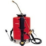 Birchmeier back carried compressed air sprayer. Plastic Tank - 10K - 10 liter tank