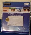 Sofcover bed bug protection for California king size mattresses. Prevent bed bugs on your mattresses.