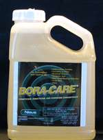 Instead of poisoning the soil under a home, Bora-Care eliminates the wood as a food source. Apply it directly to the wood, concrete and foundation penetrations.