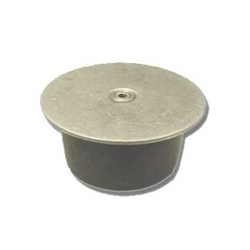 The Concrete Port Cover is designed to cover holes that are drilled or cored in cement and asphalt to install termite bait stations.