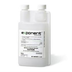 Exponent Synergist - use Exponent as a synergist  in a tank mix to improve the control of  insects.  It will raise the level of control by increasing insect susceptibility to insecticides.
