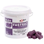 Fastrac New Formulation - Kills rats and mice in one to two days, using less bait because rodents stop feeding after eating a lethal dose.