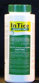 Rockwell Labs - Intice Fine Granular Bait w/boric acid for control of ants, cockroaches, crickets, mole crickets and silverfish.