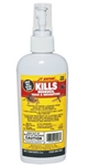 JT Eaton Kills Bedbugs, Ticks and Mosquitoes (Item #209-W6Z). Water Base 0.50% Permethrin Spray on mattress and box springs, luggage, clothing, tents, sleeping bags, backpacks, mosquito netting and more.