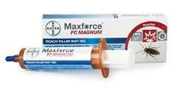 Overall the most effective roach bait available, Maxforce FC Magnum Roach Killer Bait Gel is Simply Irresistible™ to normal and aberrant-feeding cockroaches. Cockroaches need only to touch the bait to die.