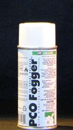 FMC total release fogger with pyrethrin for flying insects, silverfish and roaches.