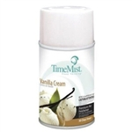 Time Mist Vanilla Cream air freshener - 5.3 oz can - 12 cans per case.