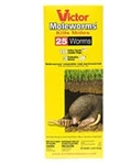 Victor Moleworms uses the same proven active ingredient, Bromethalin, that you've used in the past, but now it's formulated into a moleworm that looks and feels exactly like a common earthworm.