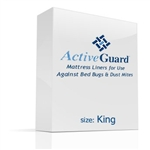 ActiveGuard™ Mattress Liners are a revolutionary mattress and box spring product that kills bed bugs and dust mites!