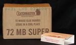 CatchMaster Super Glue Board - Unscented -  has a total of 6 pounds of glue per box of 72 glue boards. This is more glue per board for more holding power, this is the most glue per board for the 72mb series.