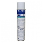 Cy-Kick CS Aerosol is a crack and crevice residual insecticide that is to be sprayed to kill disturbing pests. There will be a film left over to continue working for weeks. Apply as spot treatment  or  crack and crevice treatment.