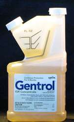 Zoecon - Gentrol IGR -  Bed bugs, cockroaches, stored product pests and fruit & drain flies. Contains the Insect Growth Regulator (S)-Hydroprene, which disrupts pests' normal growth pattern.