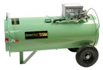 GreenTech Titan portable direct-fired propane heaters are probably the most widely used heaters for GreenTech Heat treatments.The fans in the heaters are powered by 120 volts and the heat is generated by propane or natural gas.
