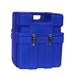 B & G Carry Case - Hold tank sprayers and other equipment, seamless construction, no leaks.  Comes in Grey, Green, Black, Blue or red. Jumbo case comes with a child-resistant lock.