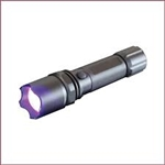 J F  Oakes - 005-UVT1-101  -  Pro Pest LED UV Rechargeable Flashlight - 3 watt - includes rechargeable battery, charger and holster. Scorpion Black Light.